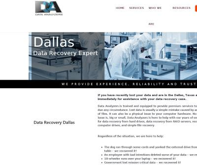 Data Analyzers Data Recovery Restore Your Lost Data Fast Dallas, TX