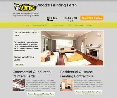 Woods Painting Residential & House Painting Contractors Perth Australia
