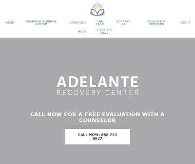 Adelante Recovery at Newport
