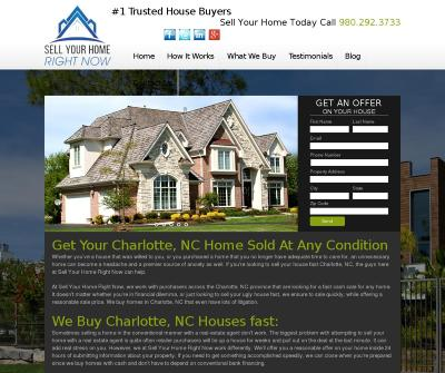 Sell Your Home Right Now Cash Home Buyers Charlotte, NC