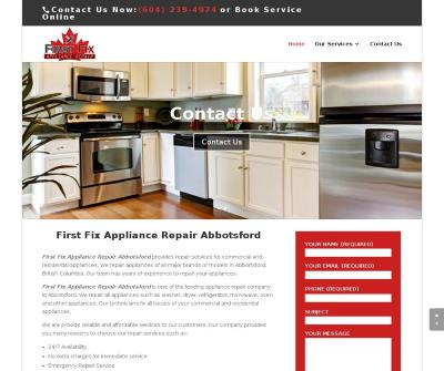 Appliance Repair Abbotsford Commercial and Residential Appliances Service Canada
