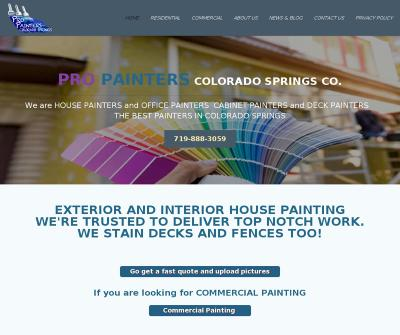 Pro Painters Colorado Springs residential House Painting & Commercial Painting Services