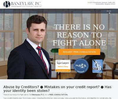 Baneylaw, P.C 	Identity Theft, Bankruptcy Attorney Lawyer Annapolis, MD