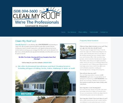 Clean My Roof LLC Siding, Decks, Patios, Walkways, Stairs South Dennis, MA