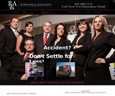 Bruce Robinson & Associates Personal Injury Medical Malpractice Maryland Accident Lawyers