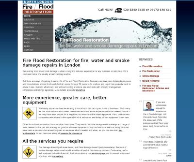 North London Fire Flood Restoration