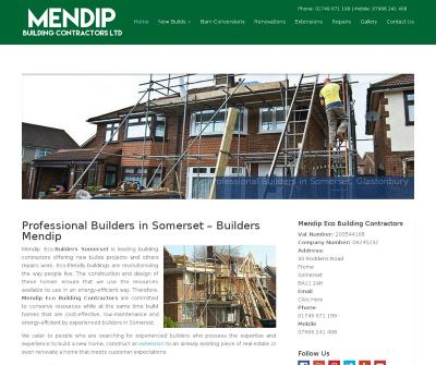 Mendip Eco Building Contractors New Builds Projects, Repair Work UK