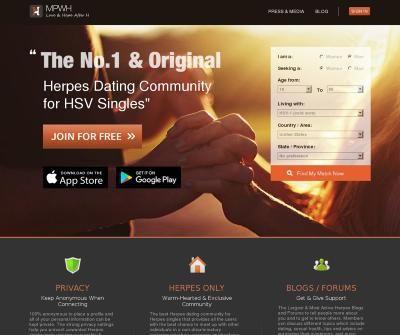 MPWH | #1 Herpes Dating Site & App for HSV Singles