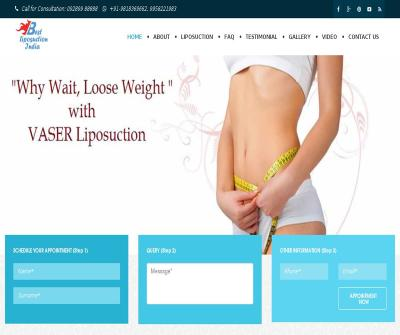 Liposuciton Surgery Dr. Ajaya Kashyap Cosmetic Surgeon in Delhi, India
