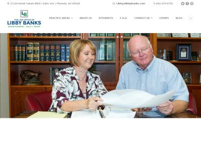 The Law Office of Libby Banks, PLLC Estate Planning, Probate, Trust Administration Phoenix AZ