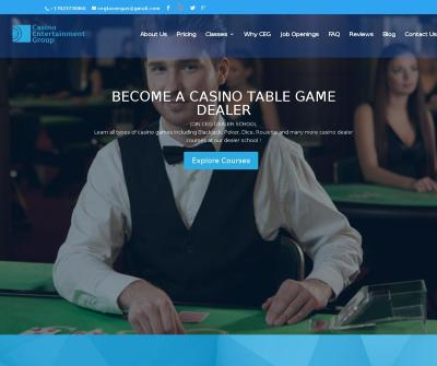 CEG Dealer School | The Premier Table Games Dealer School Las Vegas
