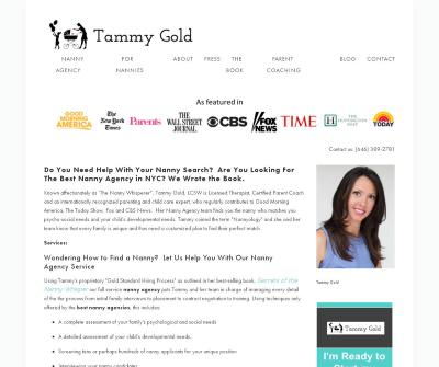 Tammy Gold Nanny Agency - Manhattan Nanny Placement Service