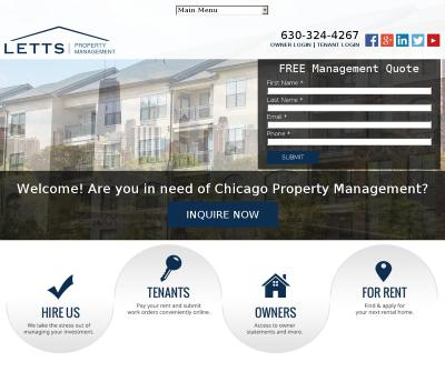 Letts Property Management Residential Chicago Property Managers Brokerage