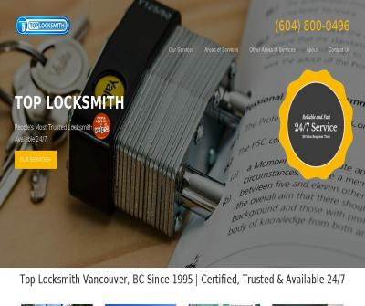 TOP Locksmith 24/7 emergency locksmith service in Vancouver BC