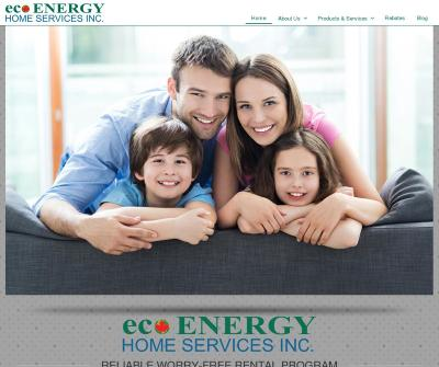 Eco Energy Home Services Central Heating System, Tankless Water Heater, Air Conditioning Rentals