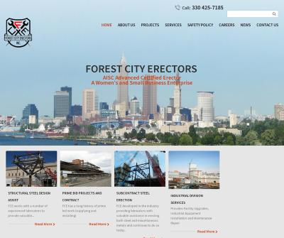 Forest City Erectors, Inc. Structural Steel Design Assist Twinsburg, Cleveland and Canton OH.