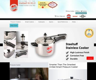 Best Pressure Cookers India and cookware Brand -United Pressure Cooker