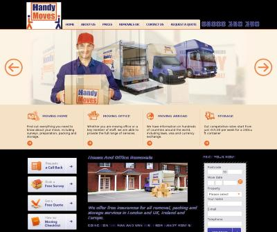 Handy Moves Professional Removal Company Storage, Packing London UK