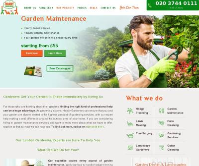 Handy Gardeners in London