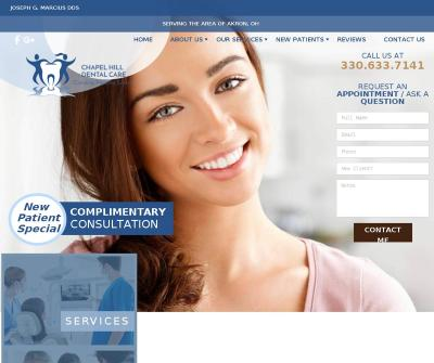 Chapel Hill Dental Care: Joseph G. Marcius, DDS Sedation Dentistry Implant Surgery Akron OH