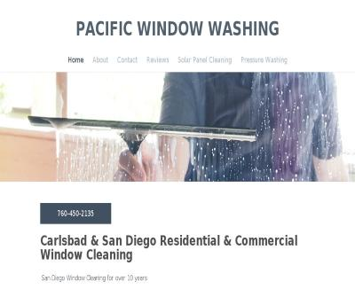 Pacific Window Washing Pressure Wash Screen Repair Owner Zac Powell Carlsbad San Diego CA