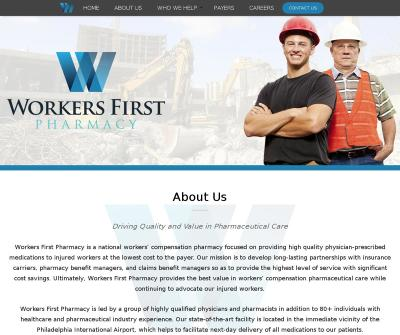 Workers First Pharmacy workers' compensation pharmaceutical care