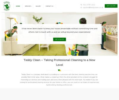 Teddy Clean - End of Tenancy Domestic Cleaning Nottingham Professional Cleaners