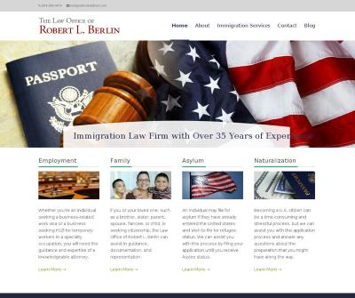 Robert L. Berlin Immigration attorney in Jacksonville, Florida Free Legal U.S. Immigration Law Advice