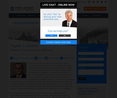 Taylor J. Cohen Workers' Compensation Attorney