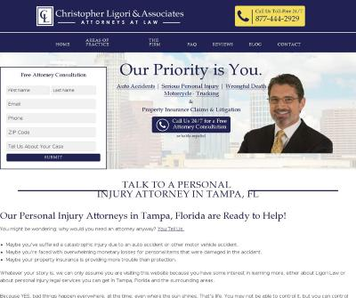 Christopher Ligori Tampa Personal Injury Attorneys Ligori Law Florida