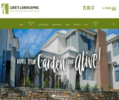 Luke's Landscaping & Irrigation Services Professional Reticulation and Landscape Perth Australia