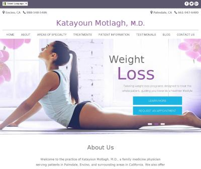 Dr. Katayoun Motlagh, Palmdale & Encino Family Doctor Cosmetic, Women's Health, Weight Loss CA