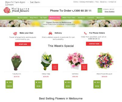 Online Flowers Delivery in Melbourne - Melbourne Fresh Flowers