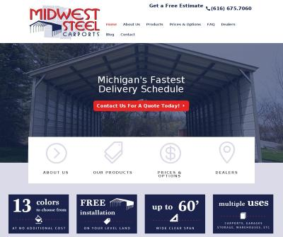 Midwest Steel Carports, Inc