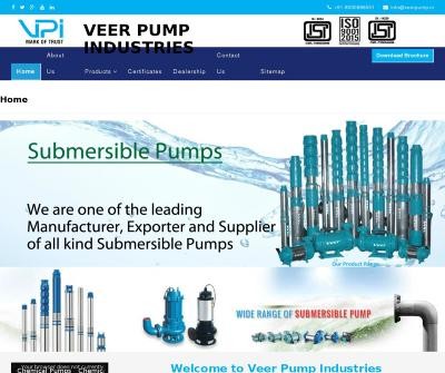 Submersible Water Pump Manufacturers in Ahmedabad