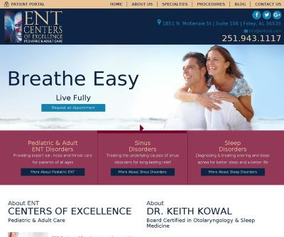 ENT Centers of Excellence in Foley, AL