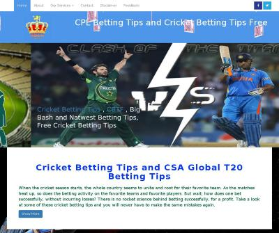 Ipl betting tips free | Free cricket betting tips