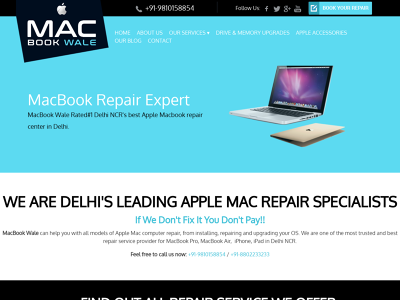 MacBook Repair Center Delhi - MacBook Wale