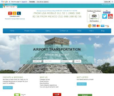 Cancun Airport Transfers, Excursions to Xacret, Tulum, Xelha, Chichen Itza, Isla Mujeres