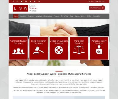 Legal Support Services for USA law firms and Busy Lawyers