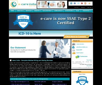 ecare India Revenue Cycle Management Insurance Verification Physician Credentialing