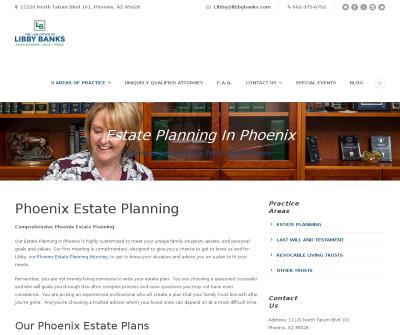 Libby Banks Estate Planning in Phoenix