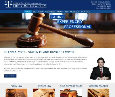 Staten Island Divorce Lawyer Glenn A. Yost