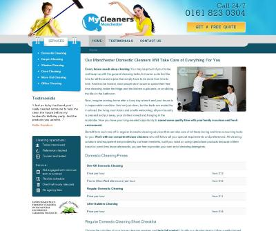 My Cleaners Manchester Reliable Cleaners in Manchester