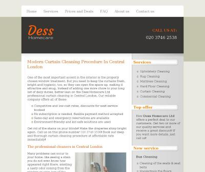 Dess Homecare Carpet Cleaning In Central London