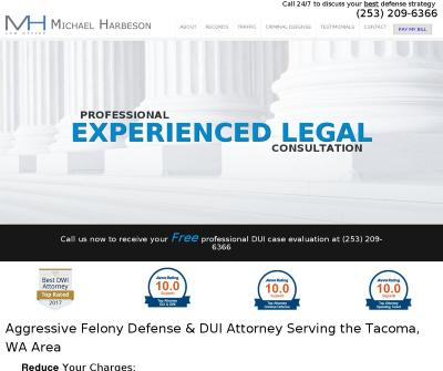 Criminal Defense & DUI Lawyer Michael Harbeson