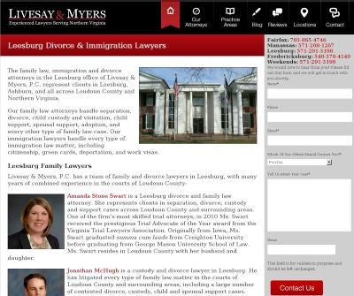 Livesay & Myers, P.C. - Family Law and Divorce Attorneys in Leesburg, Virginia