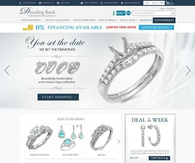 Online Certified Diamond Store - Dazzling Rock