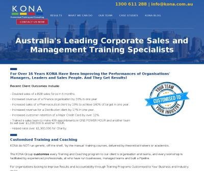 Motivational Speaker Australia testimonial for Glenn Dobson of the KONA Group