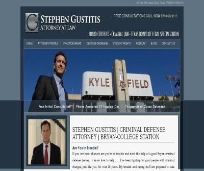 Stephen Gustitis | Criminal Defense Attorney